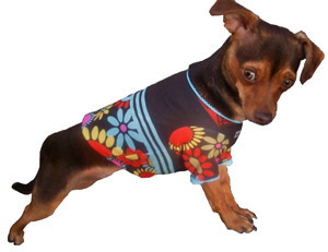 Flower Power Tee by Hip Doggie