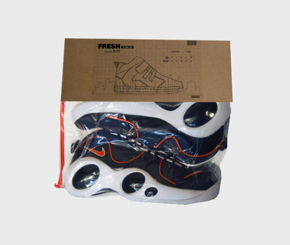 Fresh Kicks sneaker packaging
