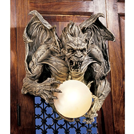 gargoyle lighting and furniture design 10 to keep evil away. Black Bedroom Furniture Sets. Home Design Ideas