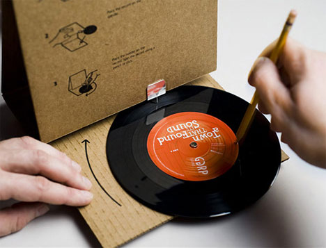 Cardboard Record Player: GGRP Sound: ©GGRP