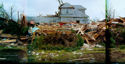 Greesburg Kansas destroyed by tornadoes in 2007: via gliving.com