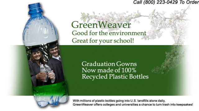 Eco-Friendly Graduation Gowns