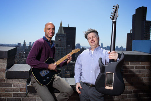 EverTune, inventors Cosmos Lyles and Paul Dowd: Photo: John B. Carnett, image via PopSci.com
