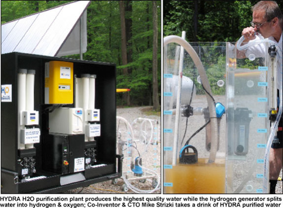 HYDRA Mobile Self Powered Water Purification Plant: The Essential Element