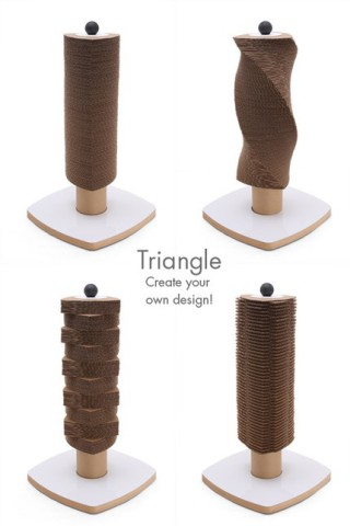 Triangle Scratch Tower: ©Moderncat Studio