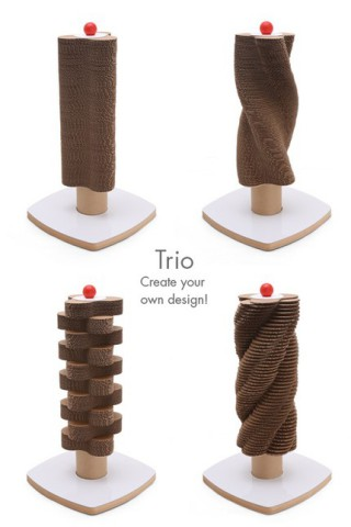 Trio Scratch Tower: ©Moderncat Studio