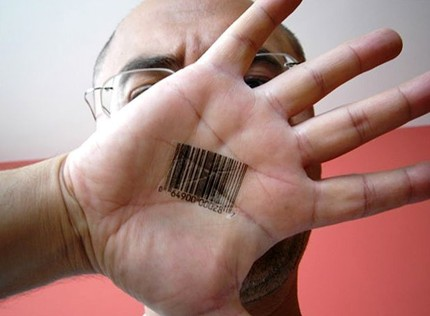 barcode tattoo. Temporary Barcode Tattoos