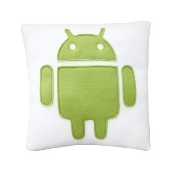Android Icon Pillow by Craftsquatch
