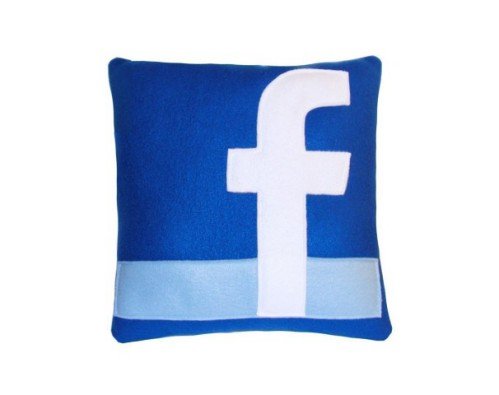 Facebook Pillow by Craftsquatch