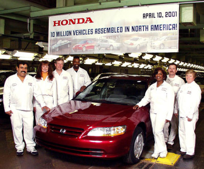 Honda Accord meets its makers