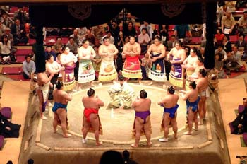 Sumo Pre-tournament Ceremony
