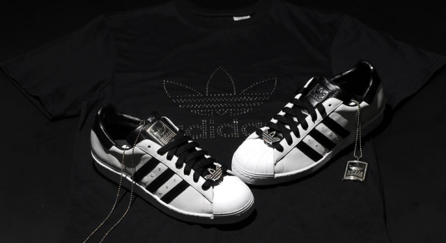 Diamond Adidas Sneakers