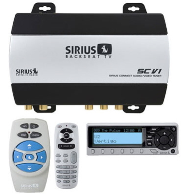 Sirius Backseat TV