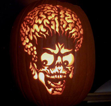 Alien Pumpkin