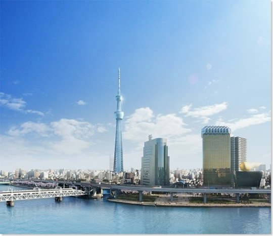 A new Tokyo Tower - &#039;Tokyo Sky Tree&#039;, Japan&#039;s tallest man-made structure!