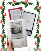 Kindle vs Nook & Sony Reader