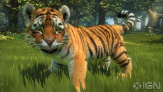 Kinectables: This tiger comes when you call him.: ©IGN