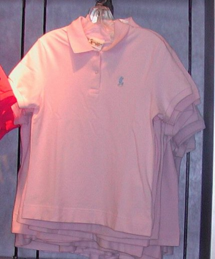 Pink Polo Shirts Hit The Scene: Source: Laughingplacestore.com