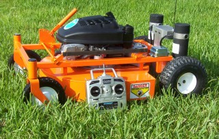 Father's Day Gift Idea - Remote Controlled Lawn Mower