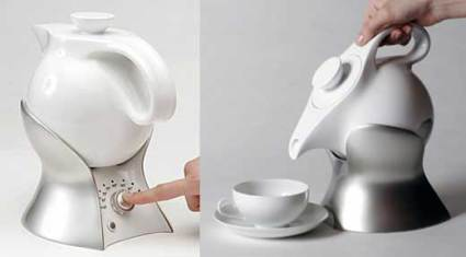 The lazy person's teapot