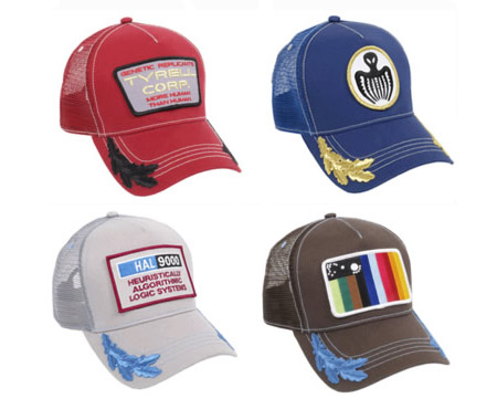 5d8749a4b90 Apparel For Cult Movie Fans  Create Your Own Hat Based On A Fictional Brand