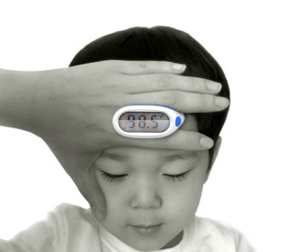 Lunar Baby Thermometer makes getting a temperature much easier