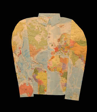 Map Clothing: Kind of has that '70's look to it, don't you think?