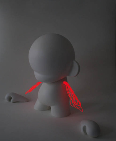 Lightbot Munny: Lord Ian Payne: Marcus Tremonto for Kidrobot