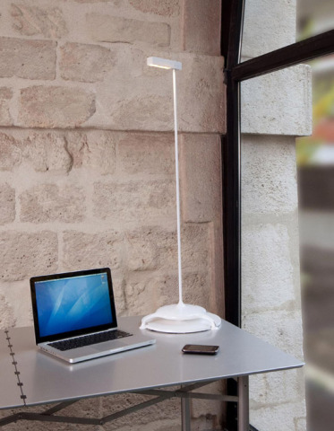 Saint Clair Solar Powered Lamp by Stéphane Maupin