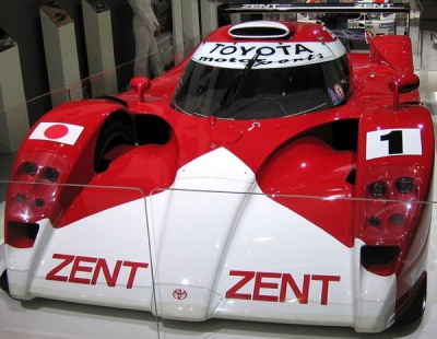 Toyota Le Mans race car from 1999