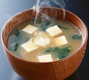 Classical, er, classic miso soup