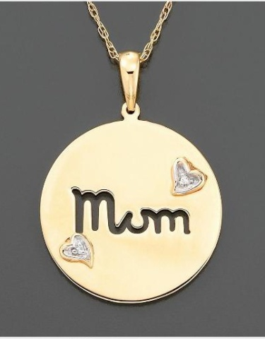 Simple Gold Mom Necklace