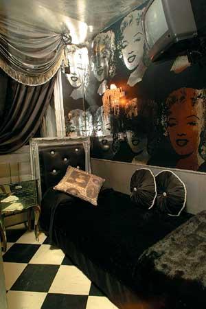 Monochrome Marilyn Room