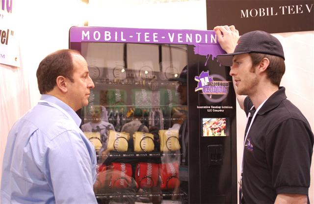 Mobil Tee Vending