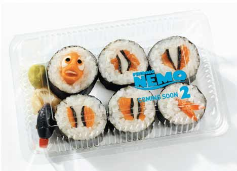 "Nemo... it's Japanese for ""tasty""!"