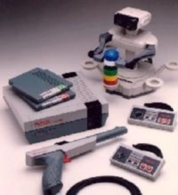 Nintendo Entertainment System with Accessories