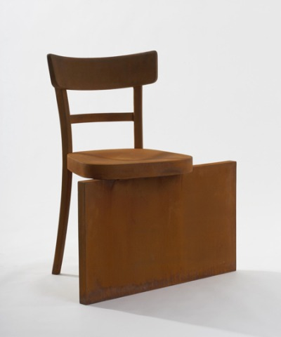"No Rest for the Rust Chair from ""flawless/imperfection"" collection by Rolf Sachs: ©Rolf Sachs"