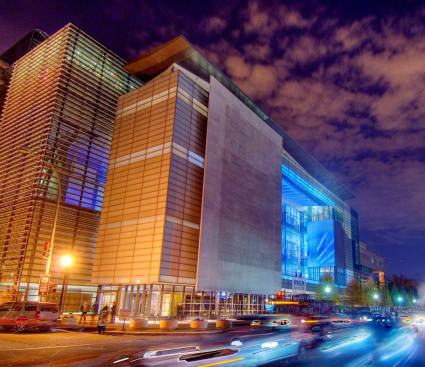 Newseum at Night