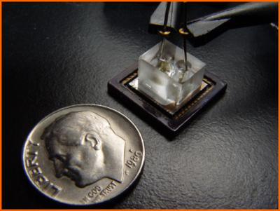 Optofluidic microscope. .Image: Changhuei Yang, California Institute of Technology