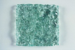 A tile version of the versatile ground glass recyclate. Image credit: Rematerialize