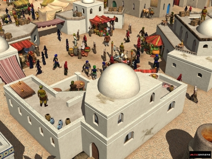 Screenshot of Arabian Lords
