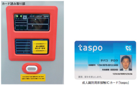 a taspo machine, image courtesy of ITpro