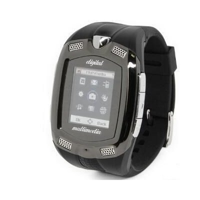 The Ensung 1.3 Mpx Unlock Tri-Band Wristwatch GSM Cell Phone