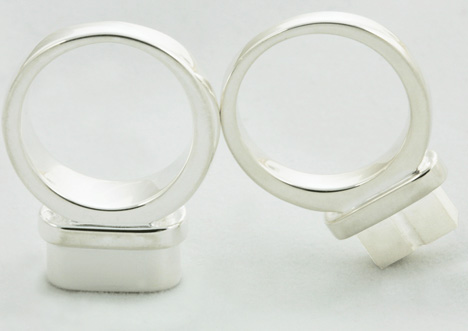 Plug and Socket Engagement Rings