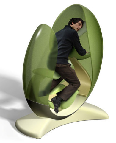 El Zulo An Ergonomic Chair Pod For The Power Nap