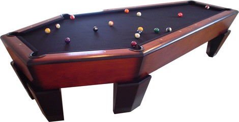 Casket Pool Table