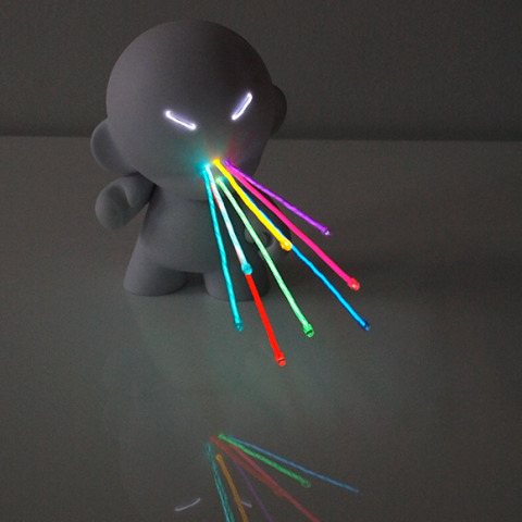 Lightbot Munny: The Evil Dr.Skit L. Spytr: Marcus Tremonto for Kidrobot
