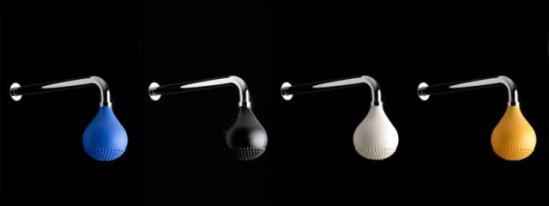 Drop shower heads: ©IB RUBINETTERIE