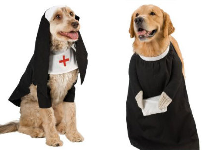 Most Pious Pet Costumes
