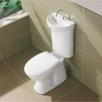 Caroma's new Profile toilet saves space, time and water